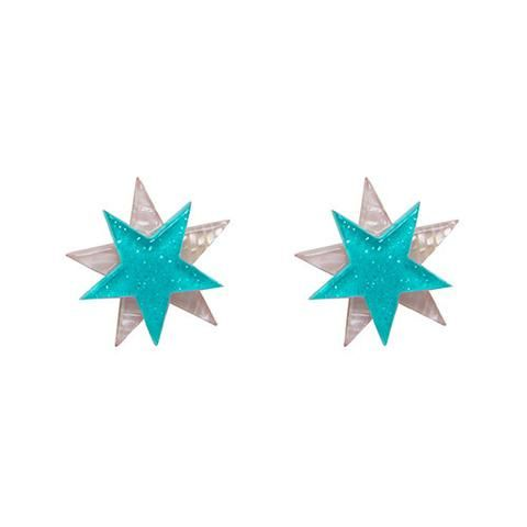 """Erstwilder Limited Edition Star Studded Earrings. """"Like the latest Hollywood epic your ears will be a must see with these stars attached."""""""