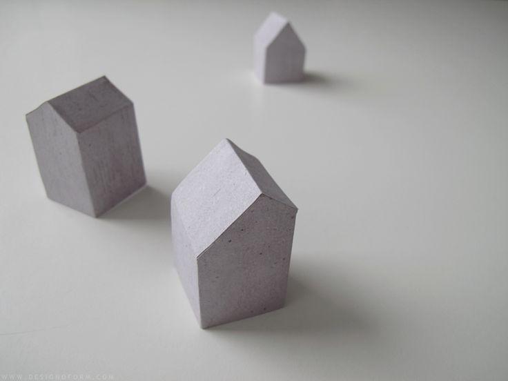 diy paper houses - designoform