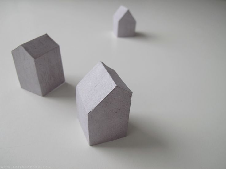 diy paper houses - designoform