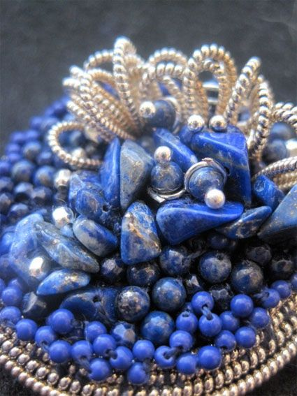 contemporary bead embroidery