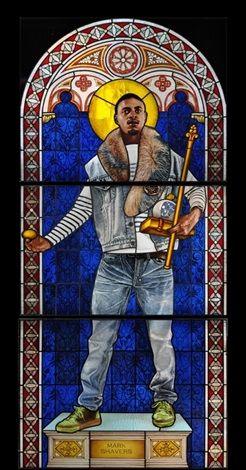 Saint Adelaide by Kehinde Wiley