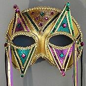 Harlequin Mask - Click to Enlarge