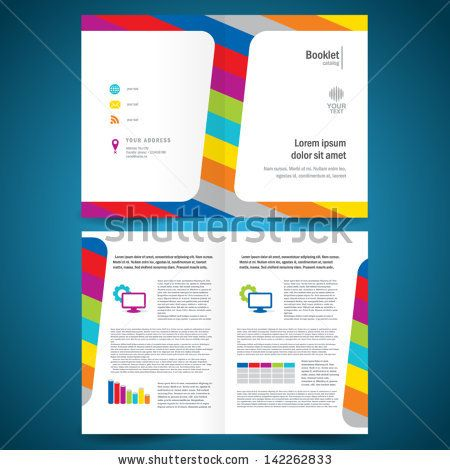 Brochure Graphic Design Pinterest