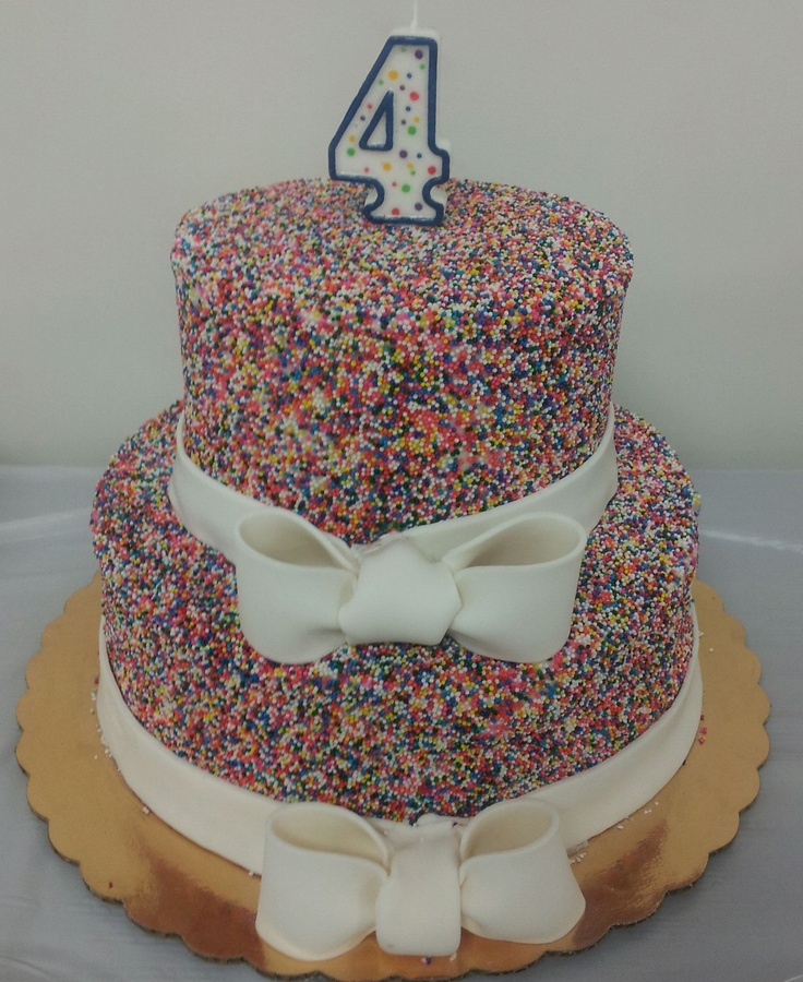 Morgan's 4th Birthday Cake