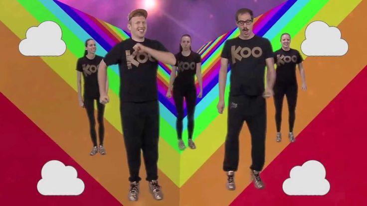 Koo Koo Kanga Roo - Awesome Rainbows: House Party Dance-A-Long Workout
