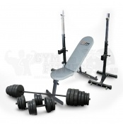 Adjustable FID Bench, Squat Stand & 50kg BD Set Package  This package includes the following items:  - Adjustable FID Bench - Force USA Squat Stands - 50kg Barbell / Dumbbell Set   Adjustable FID Bench  Here's a home fitness product that is guaranteed to raise your game when it comes to getting a terrific workout: the Folding Workout Bench.   For more info visit: http://www.gymandfitness.com.au/adjustable-fid-bench-squat-stand-50kg-bd-set-package.html
