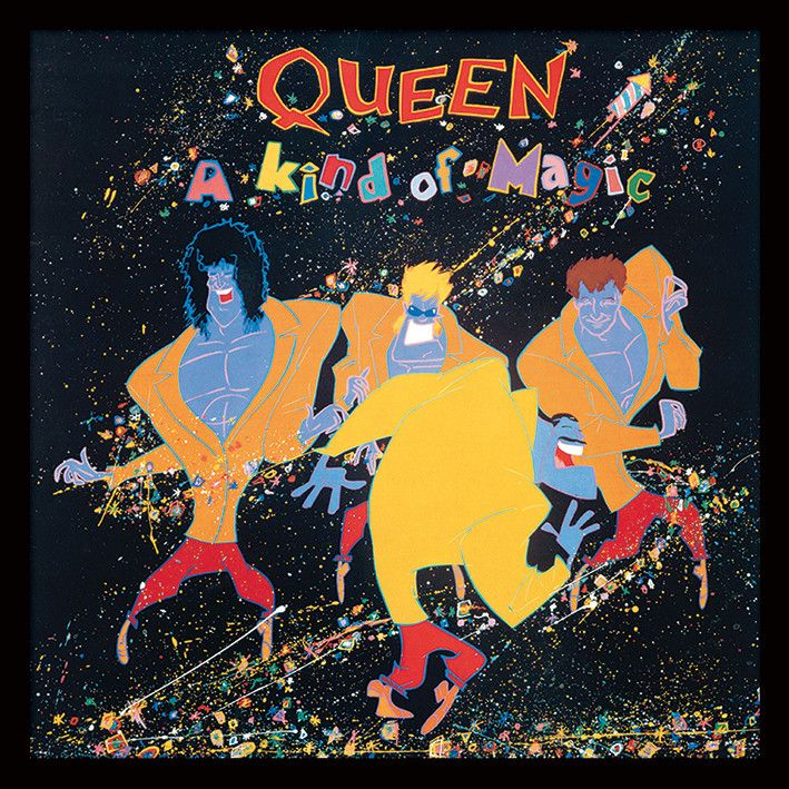 Queen A Kind Of Magic Oprawiony Plakat Cover Art Okladki Albumow I Plyty Winylowe