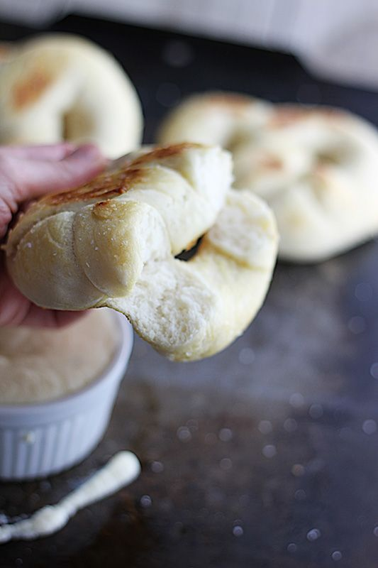 Soft Pretzels with Roasted Jalapeno White Cheddar Cheese Sauce