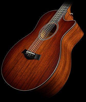 Taylor Custom Shop Bto 8 String Baritone Gs Mahogany Acoustic/electric Guitar - http://www.8stringguitar.org/for-sale/taylor-custom-shop-bto-8-string-baritone-gs-mahogany-acousticelectric-guitar/25130/
