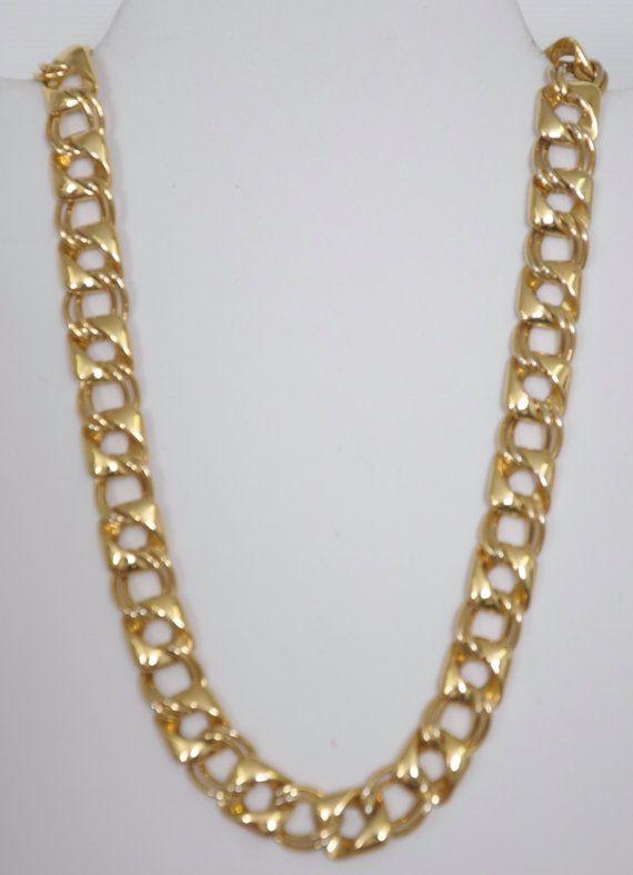 18 1/4 Gold Chocker very high quality probably by HersMineItems