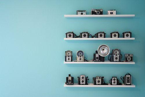 camera shelves