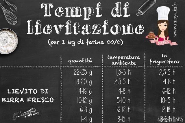 Lieviti e lievitazione - Misya.info