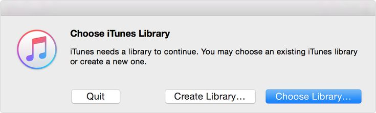 iTips: ••How to open different iTunes Library•• Apple forum 2016-3-26 for iTunes 12 (Yosemite) • open iTunes whilst holding Option key (Mac) or Shift (Windows)