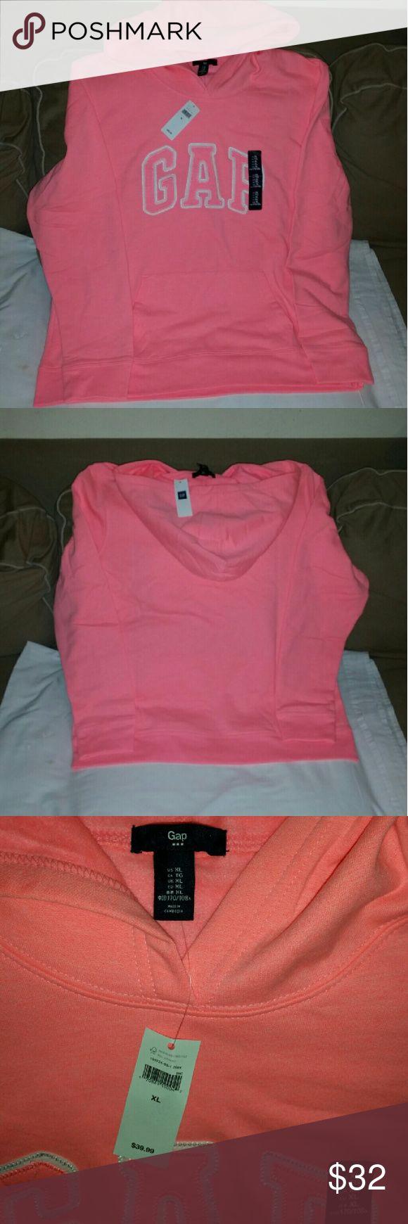 Ladies GAP sweat shirt Brand new/ color is like peach/pink GAP Tops Sweatshirts & Hoodies