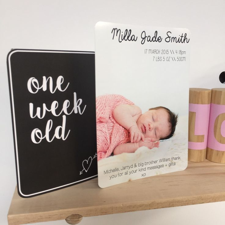 31 best Birth Announcement Thank You Cards images – Birth Announcements Etsy
