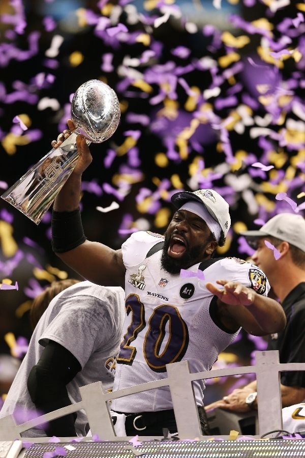 Ed Reed, 2013 Super Bowl Champion. I'll remember this moment forever.