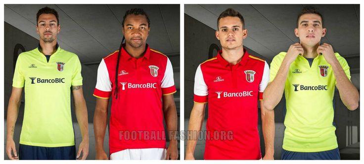 SC Braga 2015 2016 Lacatoni Home and Away Football Kit
