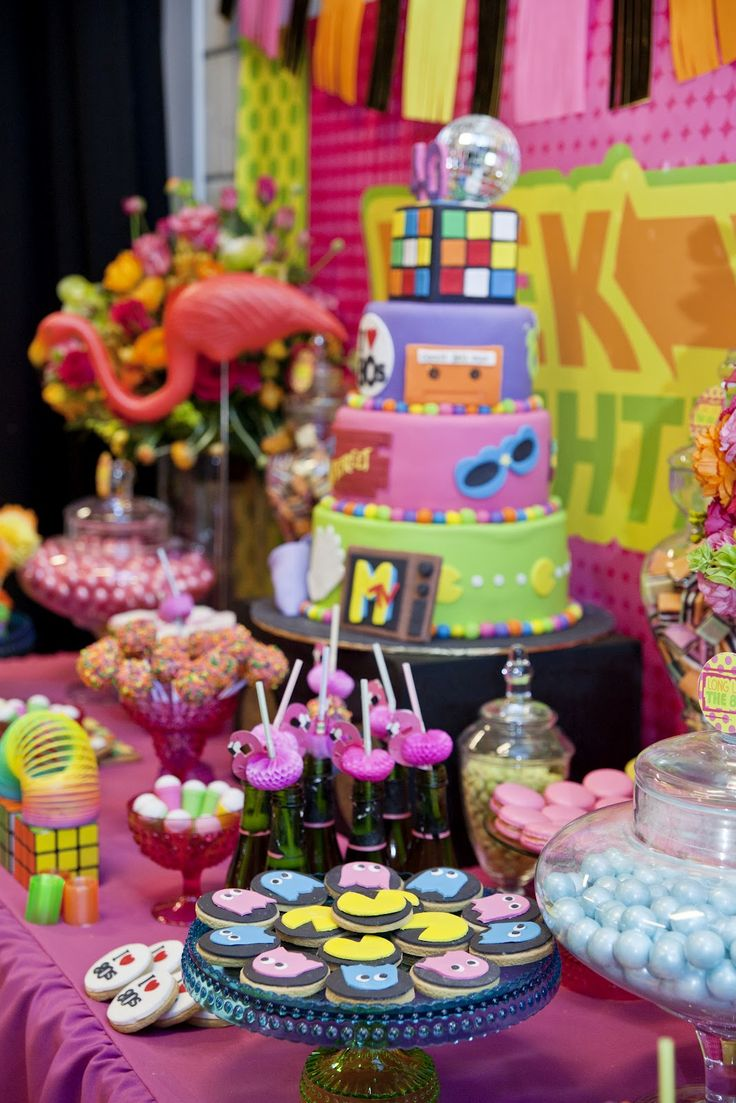 Best 25 eighties party ideas on pinterest 80s theme for 80 birthday party decoration ideas