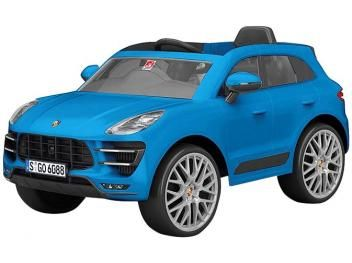 Porsche Macan Kids Electric Car – with 2-Remote Controller Emits Sounds …