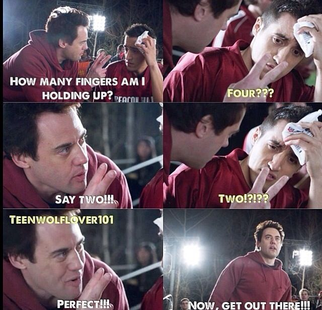 Teen Wolf. Oh coach