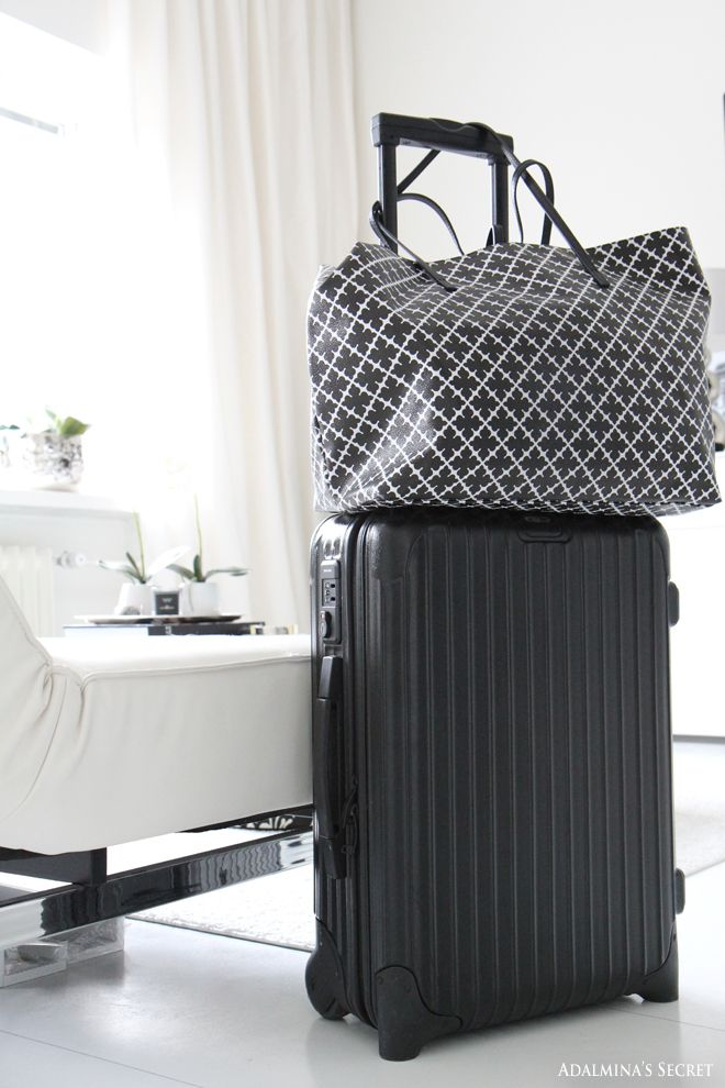 Rimowa luggage anfd Malene Birger weekend bag - Adalmina's Secret