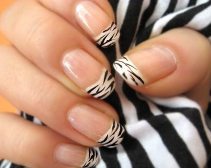 Simple Nail Designs   Zebra Part 49