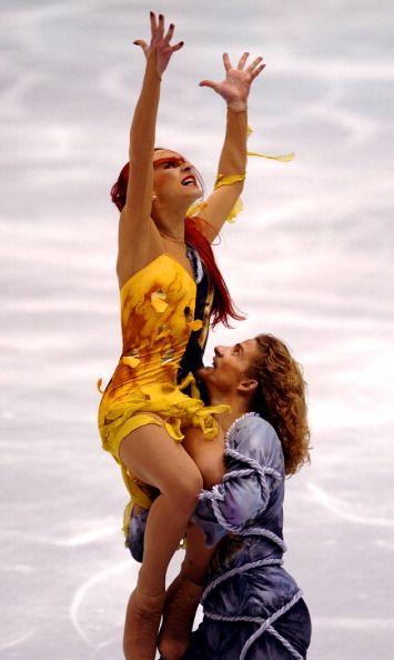 2002 Winter Olympics: Champions Marina Anissina and Gwendal Peizerat
