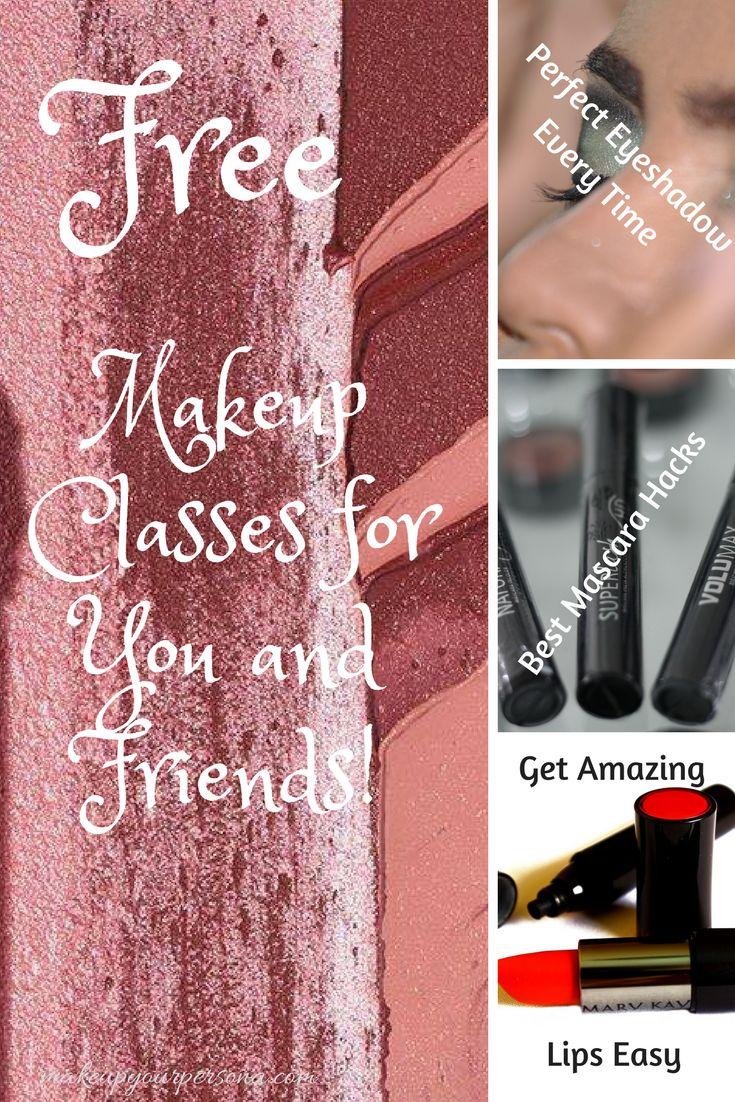 free makeup classes, Learn tips, how to apply makeup, makeup tricks