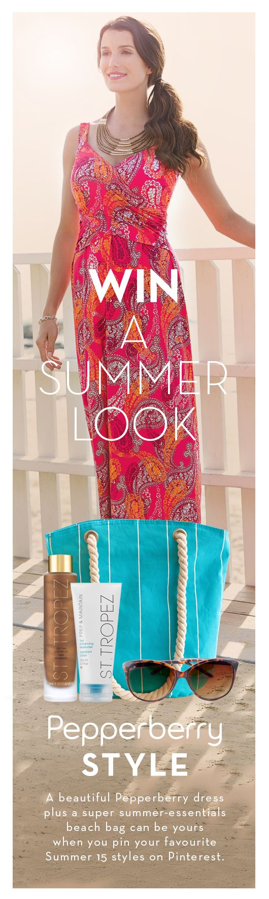 Win A Summer Look - Pepperberry Style