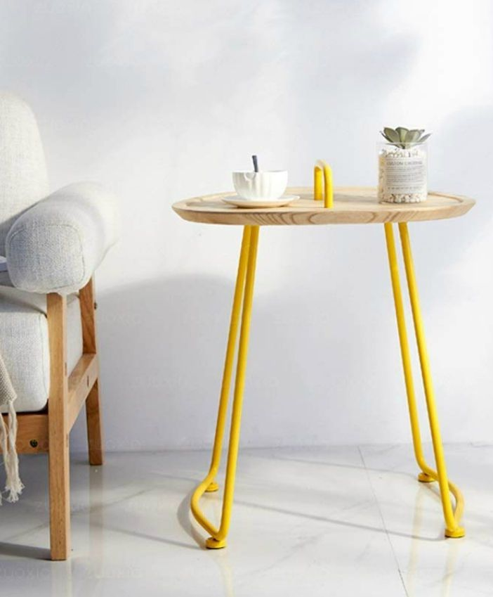 20 Gorgeous Side And Accent Table Ideas For Your Small Space Living In A Shoebox Living Room Table Living Room Side Table Round Living Room Table #wood #side #tables #for #living #room