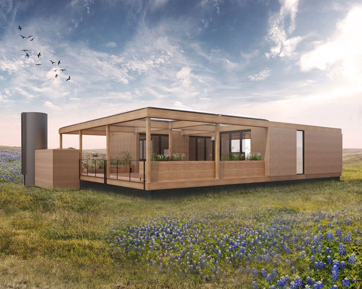 TEXAS MODULAR HOME WILL RUN ON RAINWATER AND SUNSHINE ALONE – TheViralKey