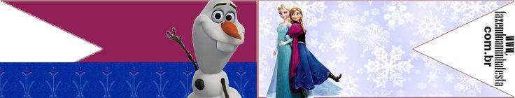 Bandeirinha Sanduiche Frozen: