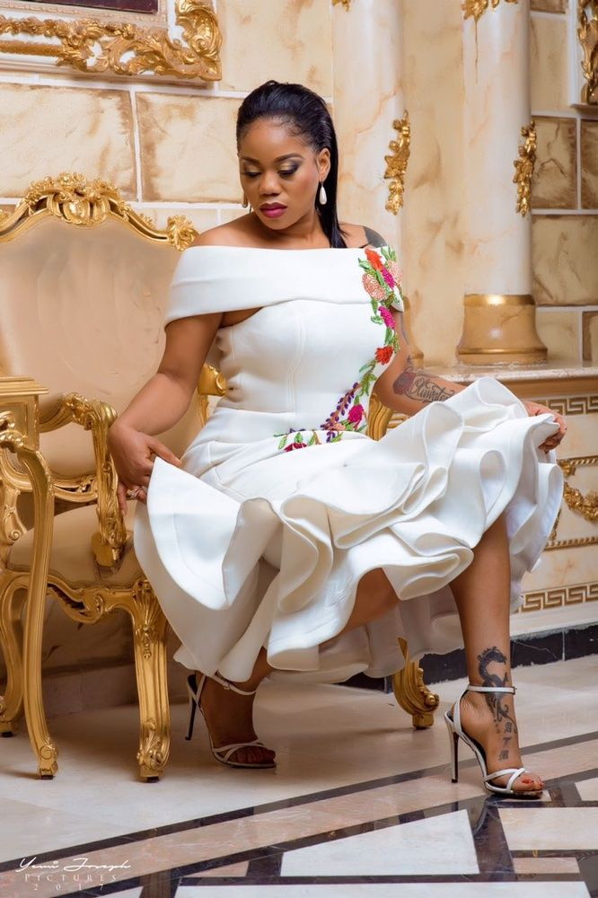 Toyin Lawani's Elegance By Tiannah Styling Unveils The Transformer Collection Lookbook