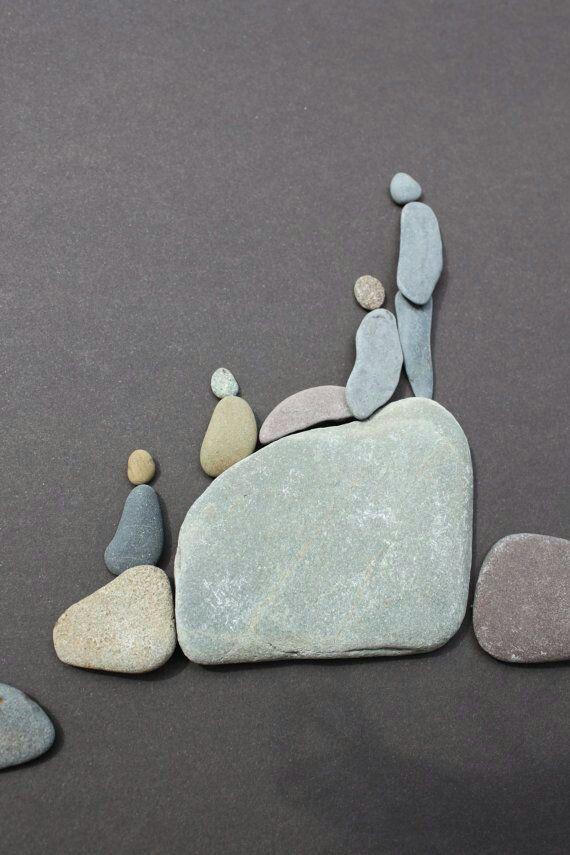 Lookout stone art