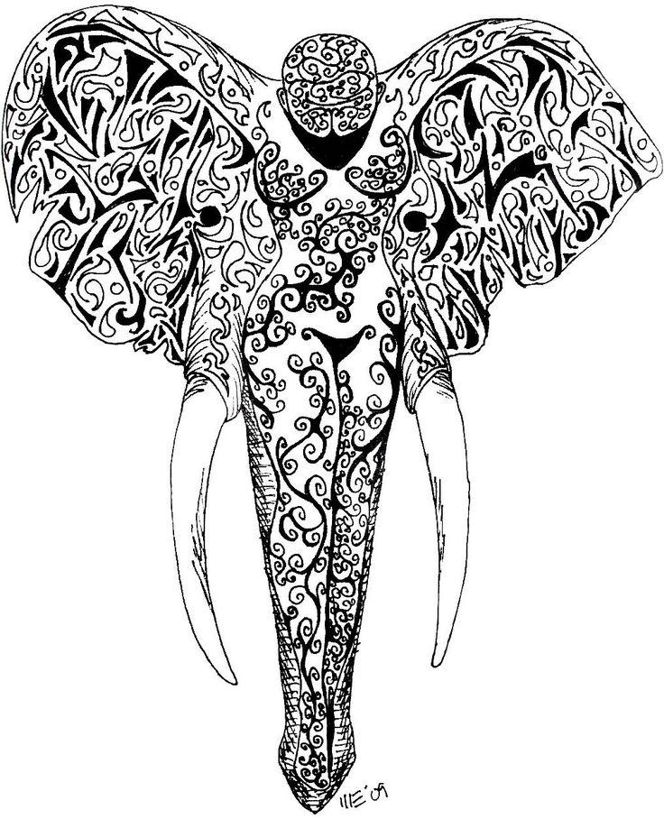 elephant head tattoo grey ink elephant head tattoo on girl left foot tattoo ideas. Black Bedroom Furniture Sets. Home Design Ideas