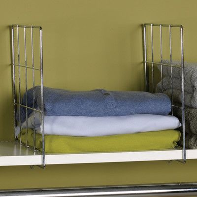 Household Essentials Shelf Divider & Reviews | Wayfair