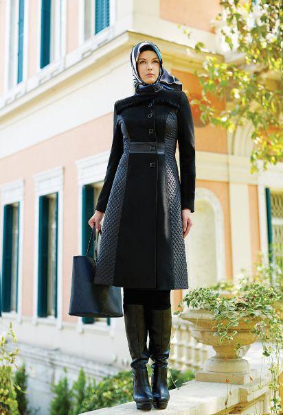 13'14 Sonbahar & Kış #Pardesu #Coat #hijab #fallwinter #winter #collection