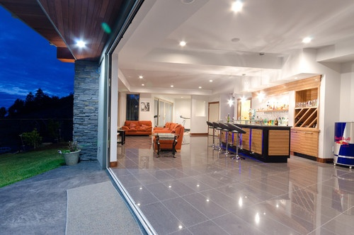 Bespoke Home on Eagle Summit - contemporary - basement - vancouver - U.K. Gill Homes
