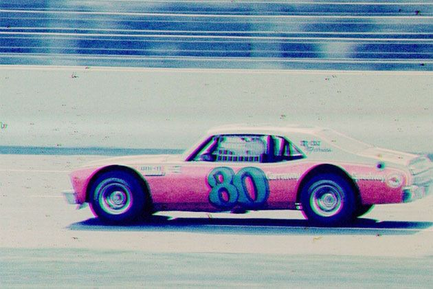 Rare Early Photo Of Dale Earnhardt In A Hobby Stock