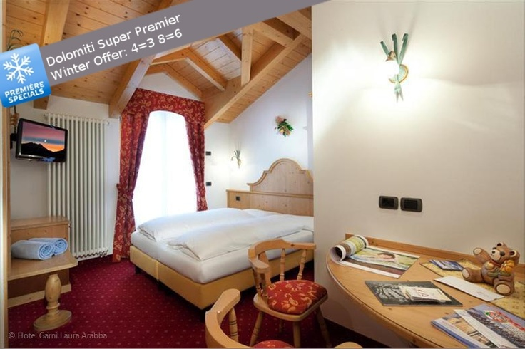 What about a skiing holidays in the Dolomites before Christmas? We have a special offert for you: Dolomiti Super Premier: until 12/22/2012 one skiing day is free on booking of at least 4 days of skiing holiday! www.garnilaura.it  #Arabba #Dolomites #holidays #offers