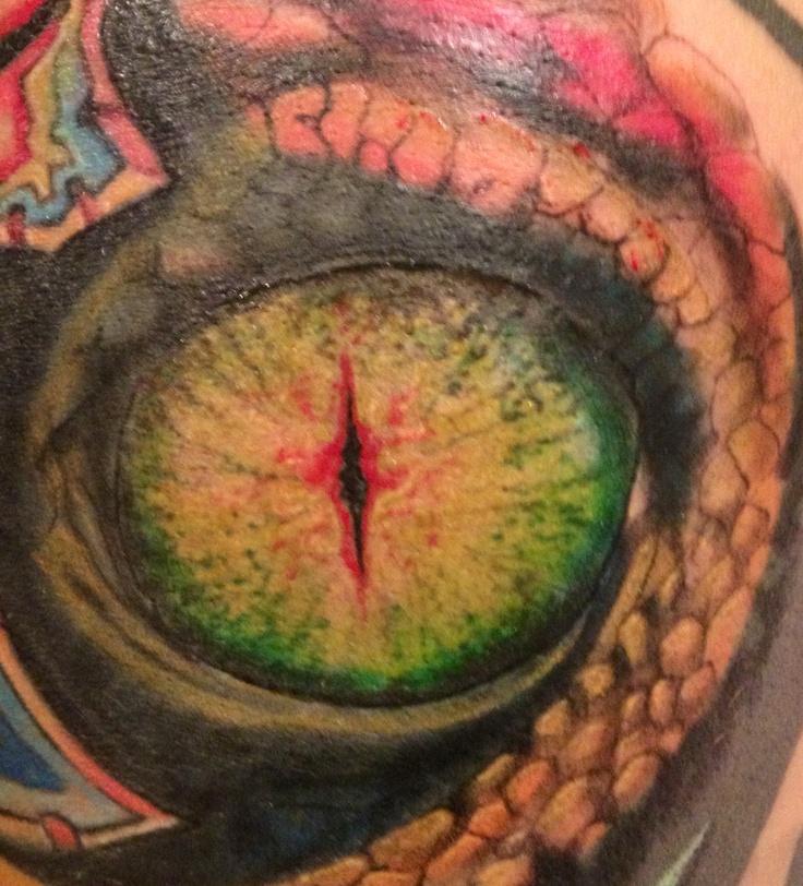 iguana eye painting - photo #32