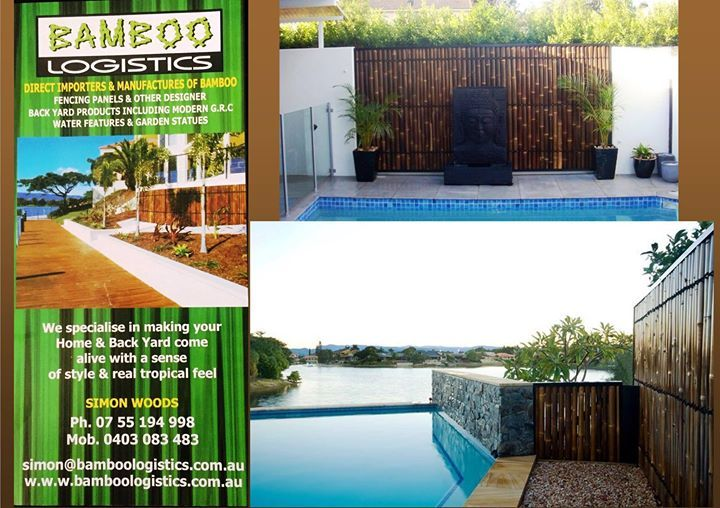 Want an amazing visual space at your place? make your back yard come alive.. Call Bamboo Logistics today.