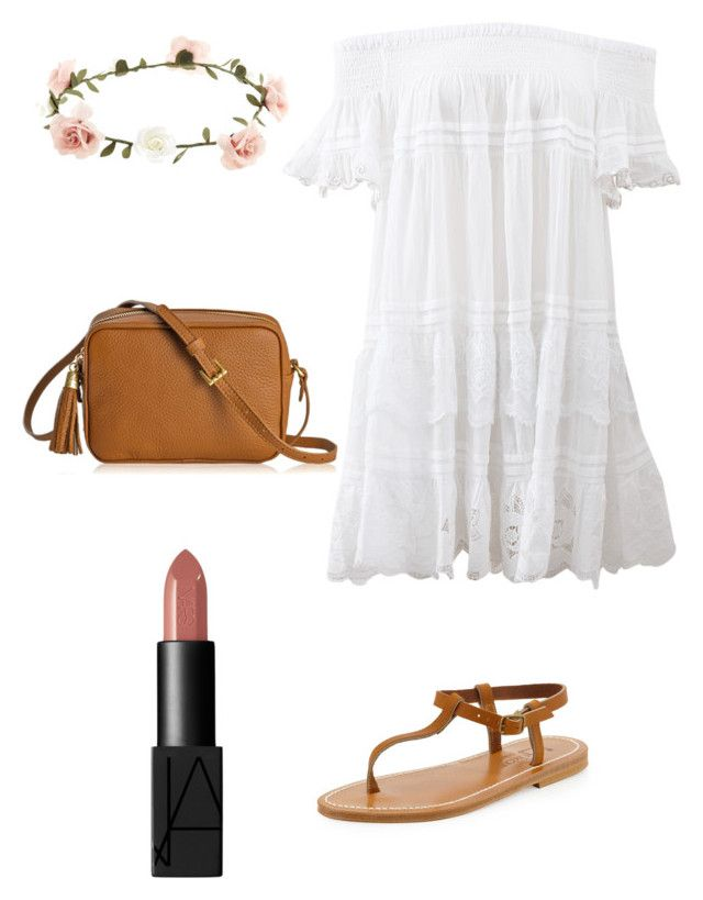 Outfit #4 by dianatairum on Polyvore featuring Anjuna, K. Jacques, GiGi New York, Accessorize and NARS Cosmetics