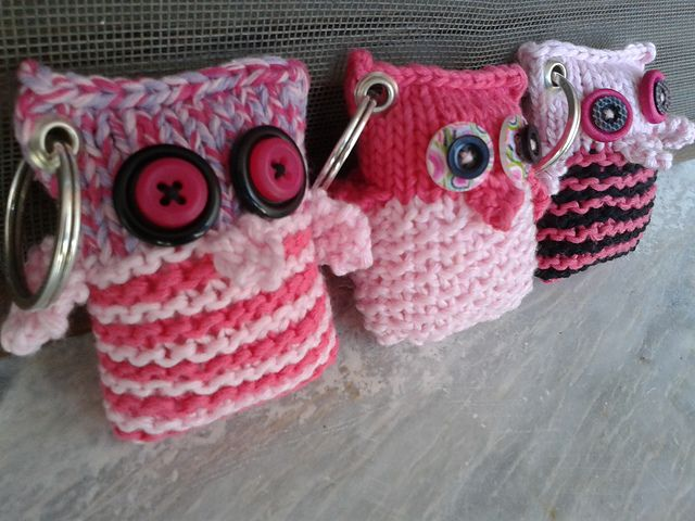 Owly Key Rings