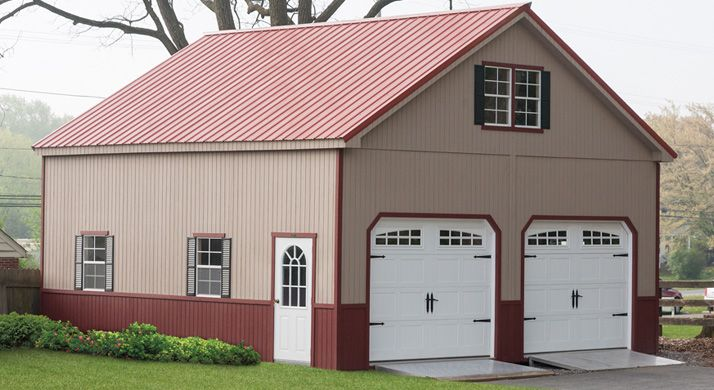 2-Story Double Wide Garages $9K +