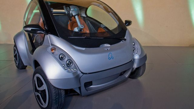 this is might be the car of the future.. space saver, it cost $12,000 initially
