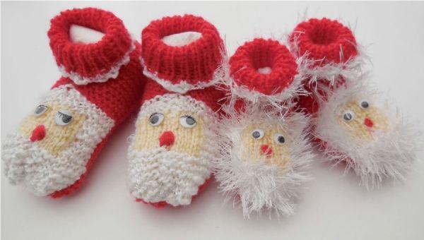 Anleitung zum Stricken - Nikolausschühchen http://www.crazypatterns.net/de/items/236/Anleitung-zum-Stricken-Nikolaussch%C3%BChchen