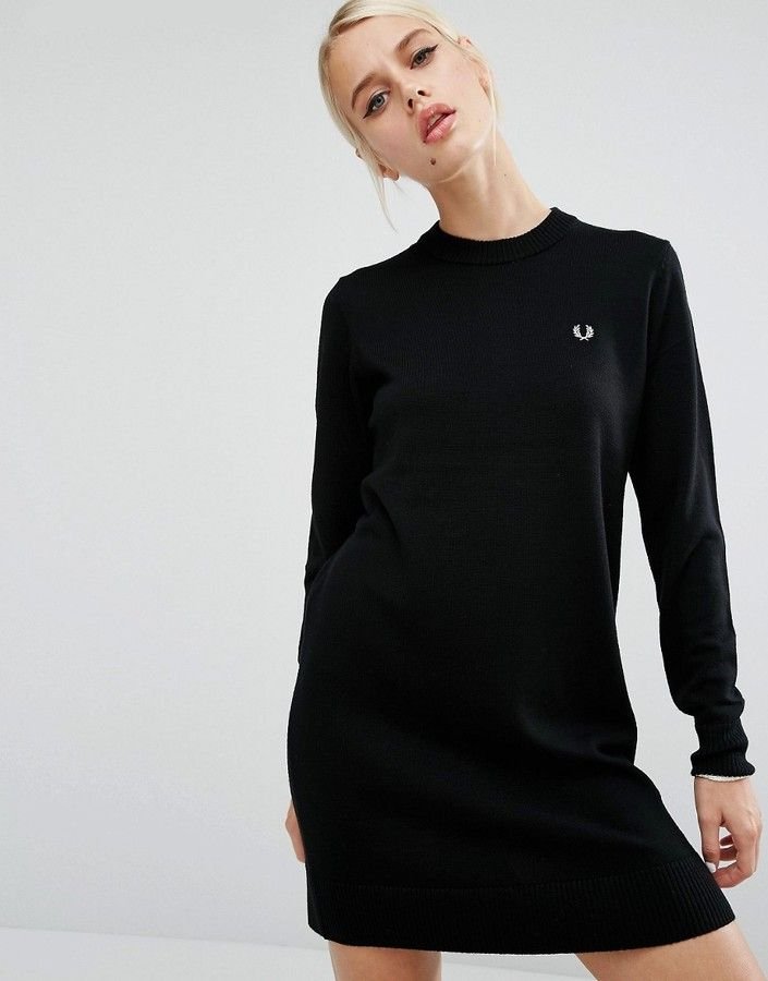 Fred Perry Knit Dress