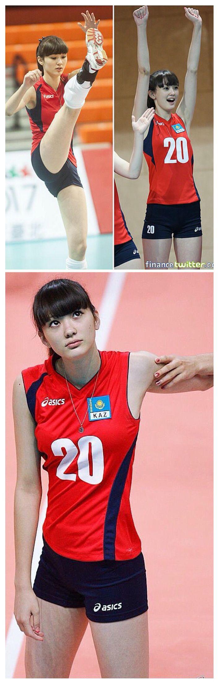 Sabina Altynbekova : Atlet Bola Volley Kazakhstan Yang