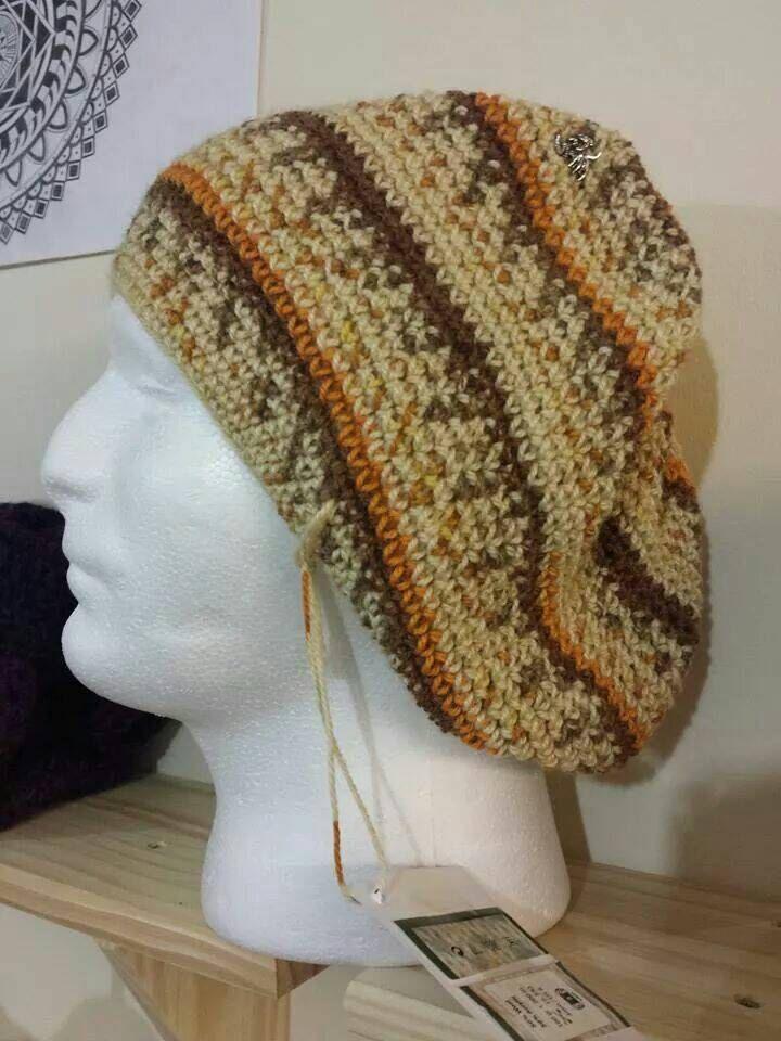 Crochet handmade welsh beanie hat - pinned by pin4etsy.com